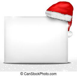 weihnachten, weißer ausschuß, design, abbildung