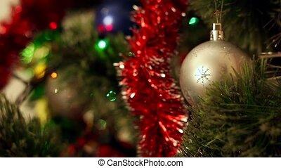 weihnachts-baum, dekorationen