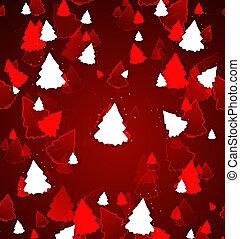 weihnachtsbäume, hintergrund, grafik, abbildung