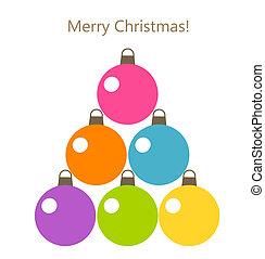 weihnachtsbaum, baubles