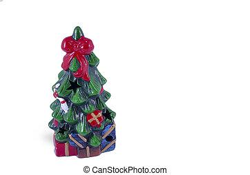 weihnachtsbaum, geformt, dekoration, freigestellt