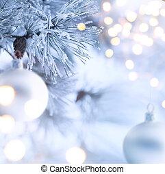 weihnachtsbaum, licht