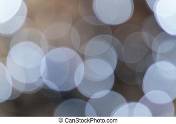 weihnachtsbeleuchtung, fokus, hintergrund