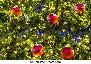 Weihnachtsdeko Für Baum.Dekoration Baum Weihnachten Hintergrund