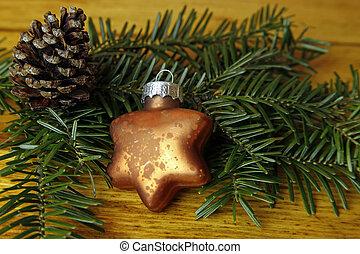 Weihnachtsdeko In Grün.Tanne Kugel Baum Dekoration Grün Weihnachten