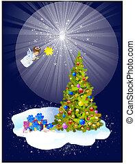 weihnachtsdeko, engel