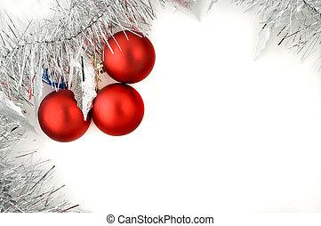 weihnachtsdekorationen, whi