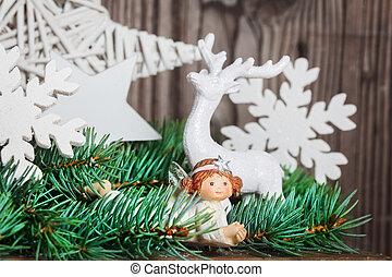 weihnachtsengel, dekoration