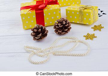 weihnachtsgeschenke, hintergrund.