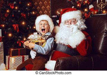 weihnachtshelfer, santa