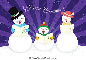weihnachtskarte, grüße