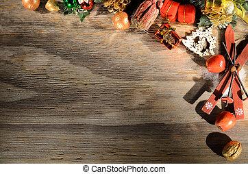 weihnachtskarte, gruß, dekoration