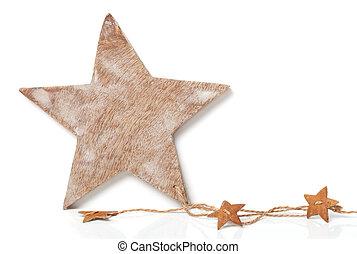 weihnachtskarte, stern