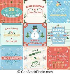 Weihnachtskarten Clipart.Weihnachtskarten Vektor Clip Art Illustrationen 341 847