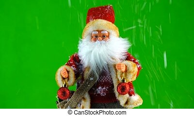 weihnachtsmann, mit, weihnachten, bereiche