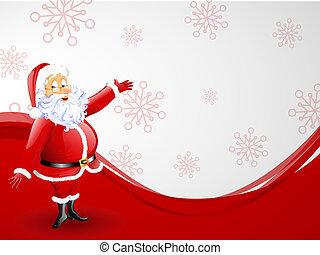 weihnachtsmann, -, weihnachtskarte