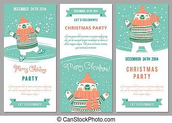 Party, stil, büro., einladung, disko, vektor, schablone,... Clipart ...
