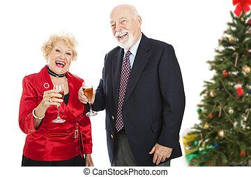 weihnachtsparty, spaß