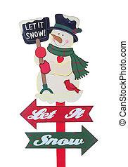 weihnachtsurlaub, zeichen