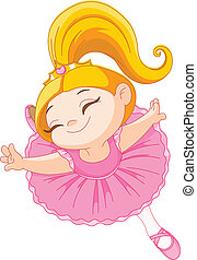 weinig; niet zo(veel), ballerina