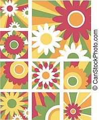 weinig; niet zo(veel), bloem, ontwerpen, 4