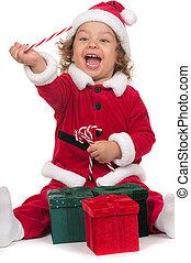 weinig; niet zo(veel), claus, kerstman