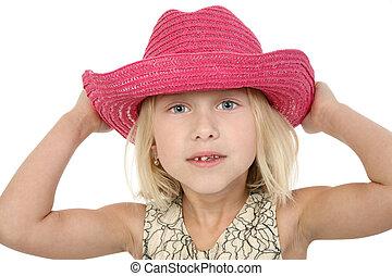 weinig; niet zo(veel), mooi, cowgirl