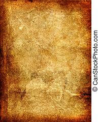 weinlese, antikisiert, altes , paper.