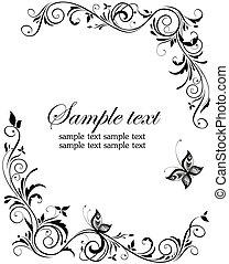 weinlese, design, wedding