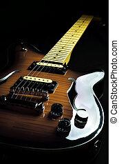weinlese, gitarre