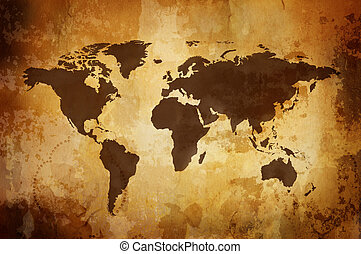 weinlese, landkarte