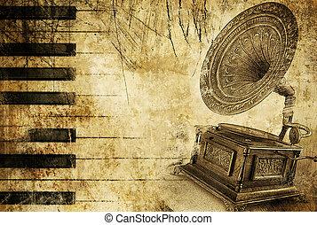 weinlese, melodie, hintergrund