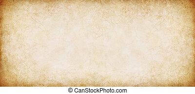 weinlese, papier, panorama