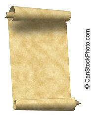 weinlese, papierrolle