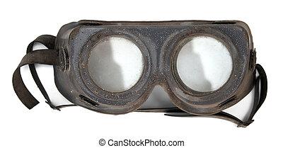 weinlese, schützende maske
