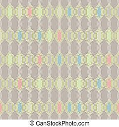 weinlese, tapete, pattern., seamless