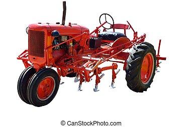 weinlese, traktor
