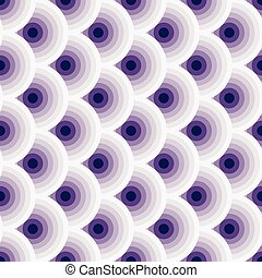 weinlese, violet-white, seamless, muster