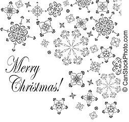 weinlese, weihnachtskarte