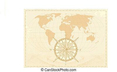 weinlese, wort, landkarte