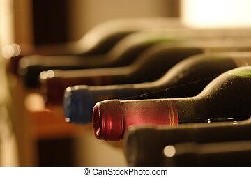 Weinregal - Bottlenecks in the wineshelf