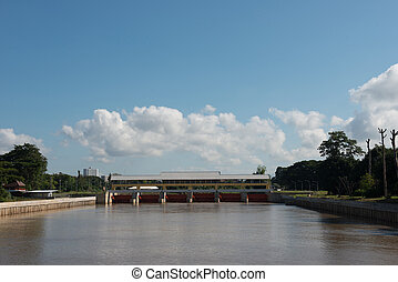 Weir - Dams blocking rivers to store water for use