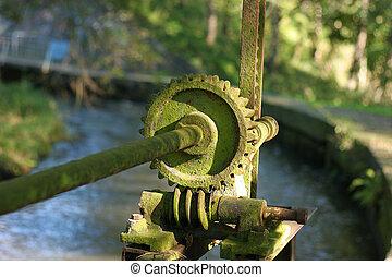 Weir mechanism