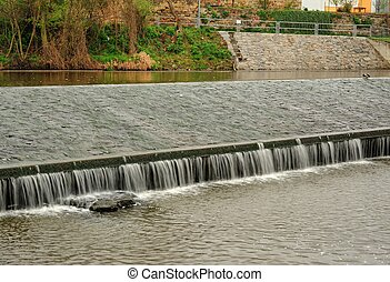 Weir on the River