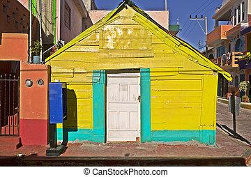 Weird Little Yellow Building