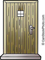 wejście, rysunek