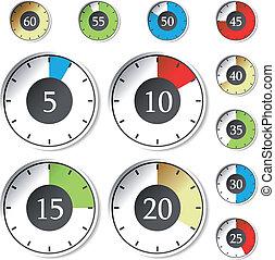 wektor, chronometrażysta
