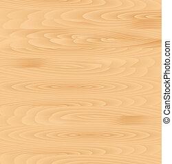 wektor, drewno, deska, struktura