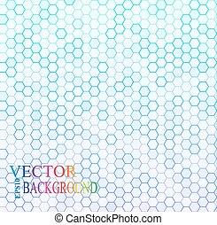 wektor, grid., struktura, szary, hex, seamless, illustration.