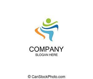 wektor, ilustracja, ikona, sport, logo